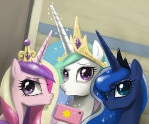 my little pony, princesses, and alicorn image