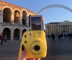 europe, hands, and instax image