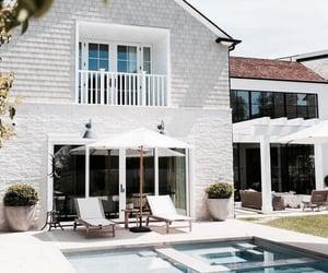 architecture, backyard, and casa image