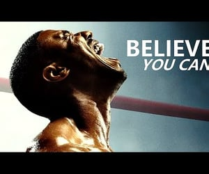 believe, never, and never give up image