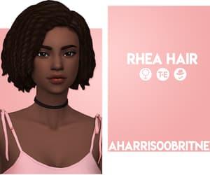 beautiful, cc, and hair image
