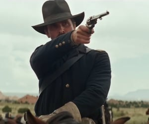 christian bale, cowboy, and outlaw image