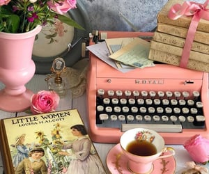 tea and vintage image