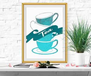 etsy, tea party, and teacups image