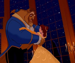 beauty and the beast, beast, and belle image