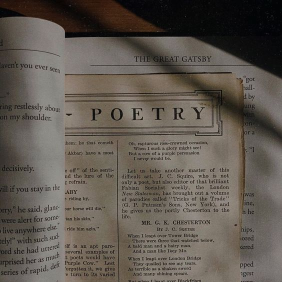 poetry, aesthetic, and book image