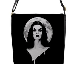 fetish, goth, and Vampira image