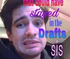 brendon urie, meme, and panic! at the disco image