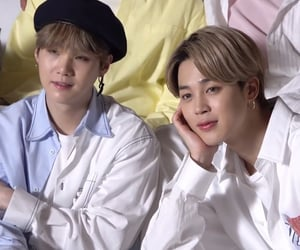 bts, yoonmin, and suga image