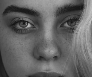 beauty, black and white, and blondie image