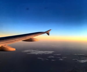 air, airplane, and roma image