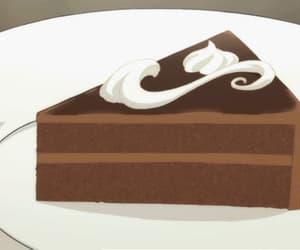 chocolate, gif, and cake image