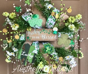 blessed, etsy, and front door wreath image