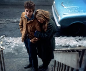 bob dylan, couple, and suze rotolo image