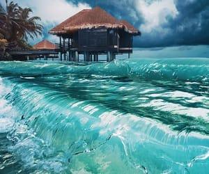 holidays, Maldives, and ocean image