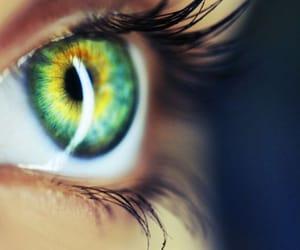 close up, eyes, and lashes image
