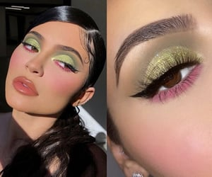 beat, eyeshadow, and famous image