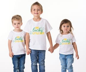 etsy, kids shirts, and st patricks day image