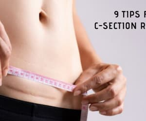 c-section recovery, pelvic floor muscle, and c-section surgery image