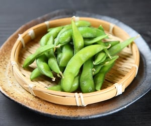 beans, japan, and tasty image