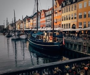 adventure, boats, and city image