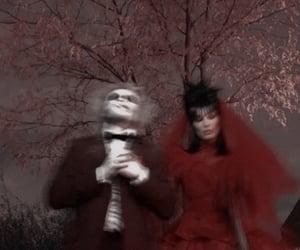Halloween, bella hadid, and goth image