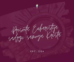 ca, Catholic, and eucharist image