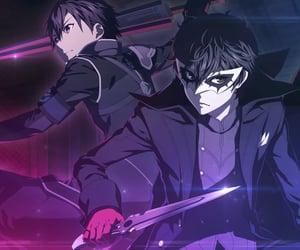 anime, persona 5 the animation, and handsome image
