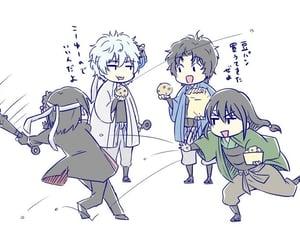 anime, cute, and gintama image