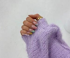 oval nailart&ring image