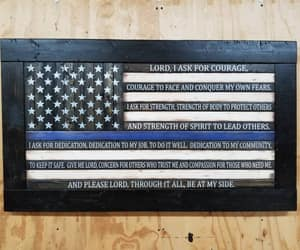 american flag, etsy, and gift for officer image