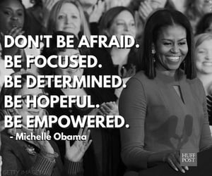 michelle obama, quote, and love image