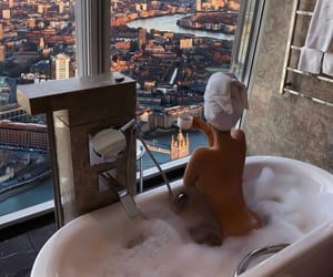 luxury, city, and coffee image