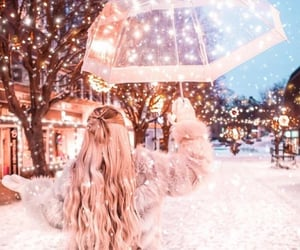 winter and lights image