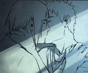 anime, art, and sasuke image