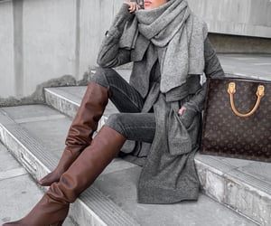 blogger, louis vuitton cabas, and fashion image