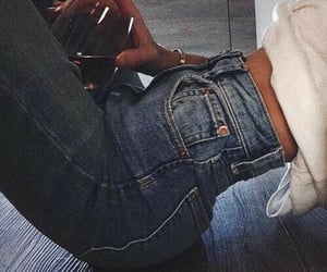 jeans, wine, and denim image