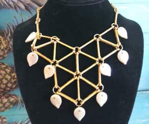 etsy, egyptian necklace, and runway necklace image