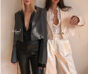 aesthetic, blazer, and chic image