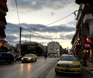Athens, city, and clouds image