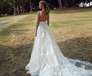 beauty, weddingdress, and bride image
