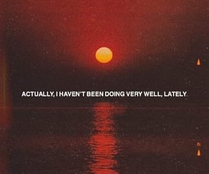 quotes, indie, and sunset image