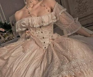 dress, vintage, and girly image