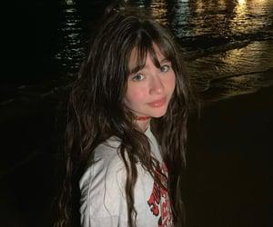 actress, blue eyes, and natural beauty image