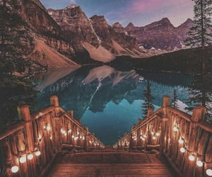 travel, nature, and lake image