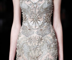 Alexander McQueen, chiffon, and haute couture image
