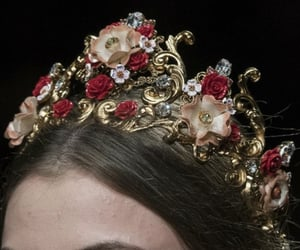 tiara, crown, and Dolce & Gabbana image