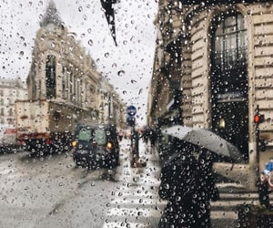 autumn, buildings, and paris image