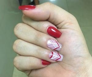 ade, nails, and natural nails image