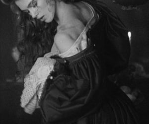 black and white, keira knightly, and old image